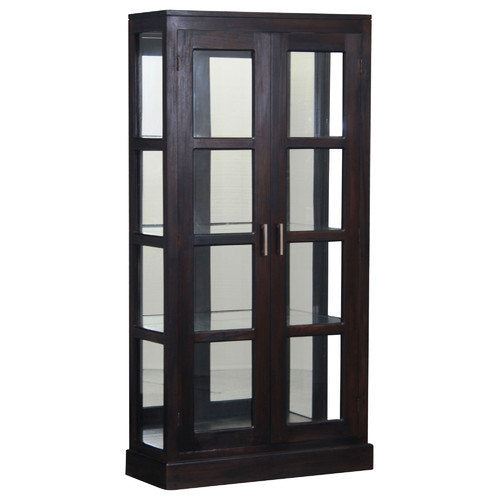 France Parisian Mirror Back Display Cabinet TWS899DC-200-MR-PNM-K