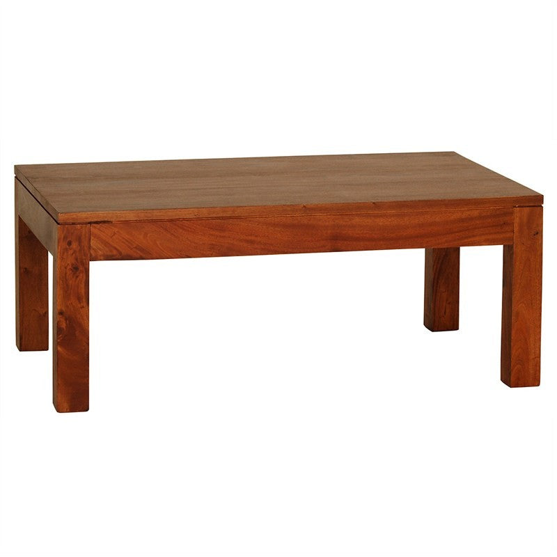 Scandinavia Solid Teak Timber 100cm Coffee Table - Light Pecan TWS899CT-000-TA-LP_1