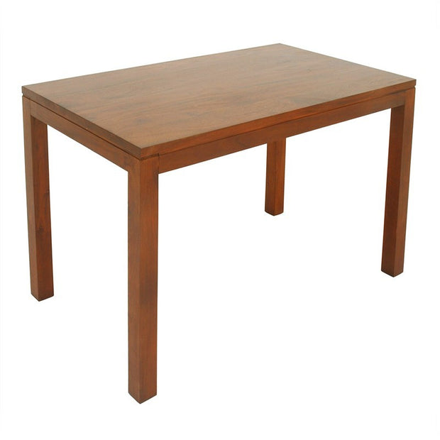 Scandinavia Solid Teak Timber 120cm Dining Table - Light Pecan TWS899DT-120-70-TA-LP_1