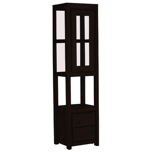 Scandinavian-1-Door-2-Drawer-Display-Cabinet-DC-102-TA