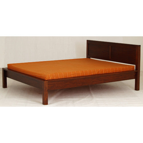 Scandinavian-Mahogany-Color-King-Bed-Frame-TWS889