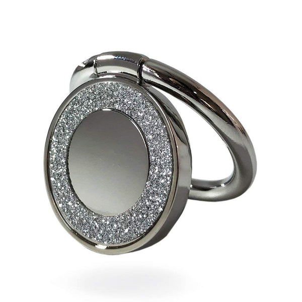 Universal Bling Diamond Crystal Finger Ring Phone Holder 360 Degree Creols-0006 - Tokyo Fashion