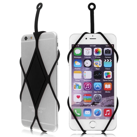 Silicone Lanyard Phone Case Cover Holder Sling Necklace Straps For Cell Phone 6922243