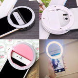 Ring Smart Phone LED Flash Light Up Selfie For Smartphones Accessories Maxfind 7028162 - Tokyo Fashion