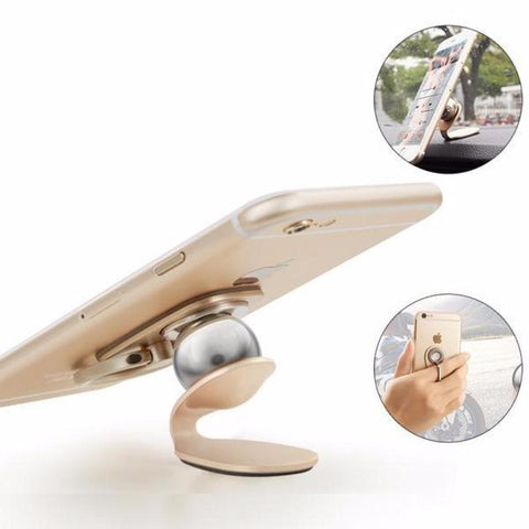 Universal 360 Degree Car Magnetic Air Vent Mount Phone Grips Haobuy 8437274 - Tokyo Fashion