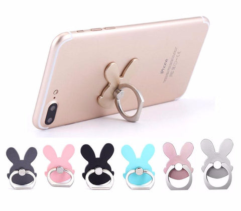 Universal 360 Degree Pop Rabbit Stand Socket Fing Ring Holder Phone Grips Haobuy 8446011 - Tokyo Fashion