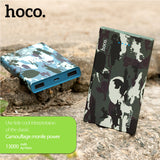 Camouflage External Battery Dual USB Port LED Display Power Bank Phone Accessories HOCO B12-13000 - Tokyo Fashion