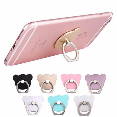 Universal Cartoon 360 Degree Pop Finger Ring Socket Candy Bear Stand Holder Phone Grips Haobuy 7921868 - Tokyo Fashion