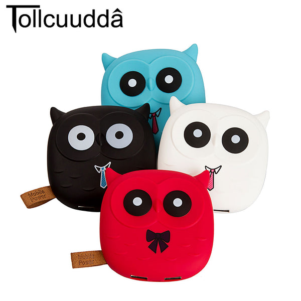 Cute Cartoon Owl Portable Charger Battery for iPhone for Xiaomi Power Bank Phone Accessories DYBK02 - Tokyo Fashion