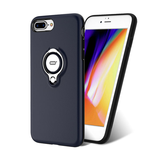Protective Case for iPhone 8 / 8 Plus TPU Frame PC Back Cover Grips ICONFLANG 11390356 - Tokyo Fashion