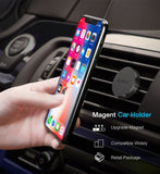 RAXFLY Car Phone Holder Magnetic Air Vent Mount Magnet Smartphone Support Mobile Car Holder Cellphone GPS Dock 360Rotation Stand - Tokyo Fashion