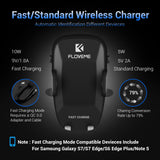 FLOVEME Car Qi Wireless Charger For Iphone X 10 8 Plus 5V/2A Fast Charging 360 Rotation Car Holder For Samsung Note 8 S8 S7 Edge - Tokyo Fashion