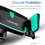 Universal Air outlet Elastic Car Gravity Holder Support Cell Phone Stand Mount For iPhone Samsung - Tokyo Fashion