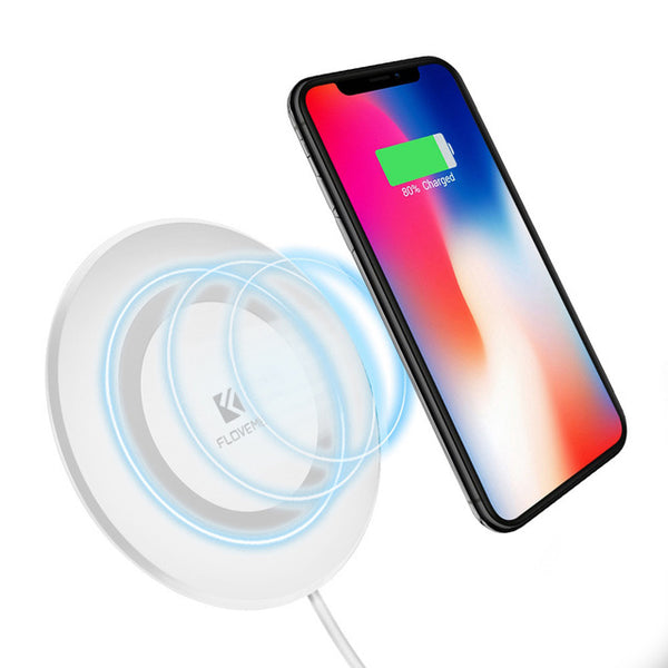 FLOVEME Wireless Charger for Phone for iPhone X 8 Plus Pad Qi Wireless Charging for Samsung Galaxy S9 S8 S7 S6 Note 8 5 Chargers - Tokyo Fashion