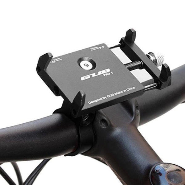 Gub PRO-1 PRO-2 Bike Phone Mount Bike Holder for 3.5-6.2 inch Smartphone, Bicycle & Motorcycle Handlebar Metal Cradle,360 Degree Rotation Universal Adjustable Fit for iPhone - Tokyo Fashion