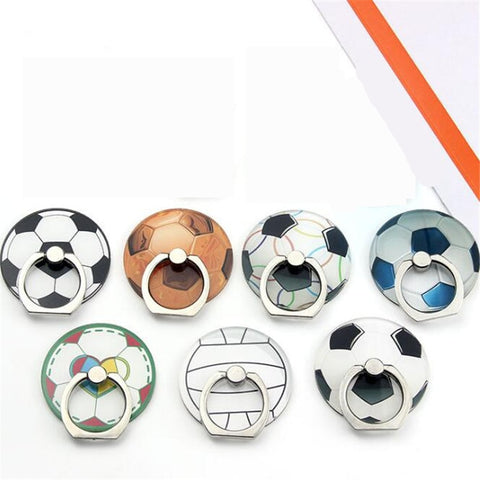 Cell Phone Stand Holder Sports Ball Soccer Ring For Smartphones iPhone Samsung - Tokyo Fashion