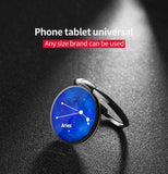 Universal 360 Degree Cell Phone Ring Stand Metal Holder Magnetic Car Mount Constellation Ring Bracket For iPhone - Tokyo Fashion