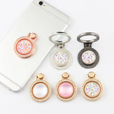 360 Degree Cell Phone Stand Holder Finger Stand Diamond Ring For iPhone Samsung Huawei - Tokyo Fashion