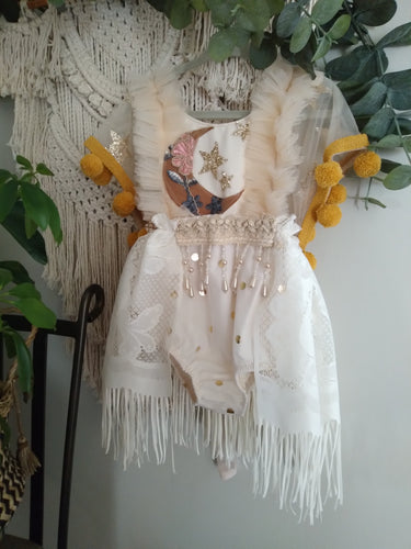 Moon flower romper