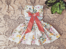 """Marabella"" retro vintage floral dress"