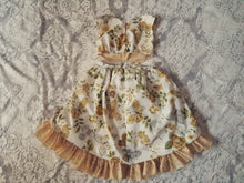 """Ari"" vintage retro high low dress 18-24m"