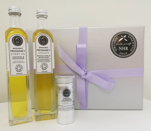 Organic Mum to be Essential Oils Gift Set