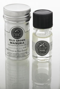 Wild Crafted Manuka Essential Oil (Leptospermum scoparium)