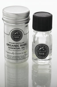 Organic Rose Otto Essential Oil (Rosa damascena)