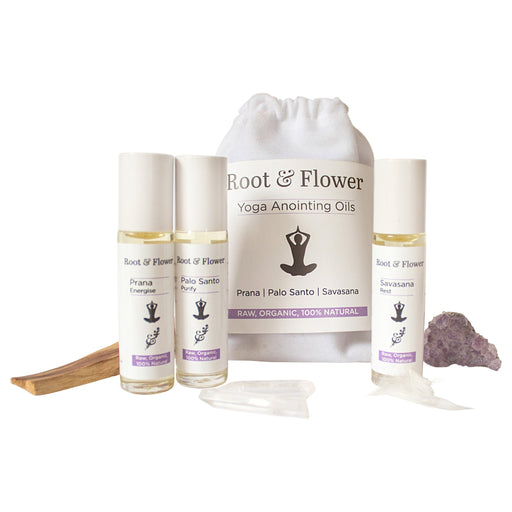 Yoga Anointing Oil Set