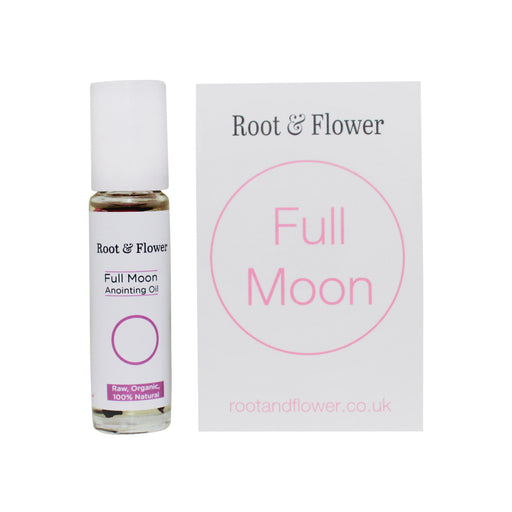 Full Moon Anointing Oil & Affirmation Card