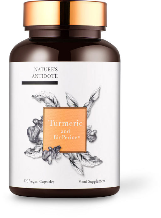 Turmeric and Black Pepper Extract Bioperine®