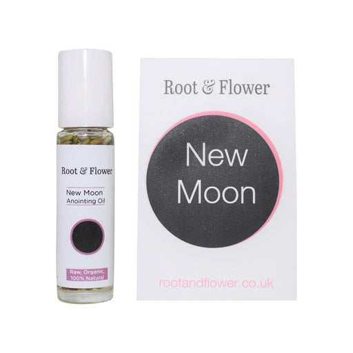 New Moon Anointing Oil & Affirmation Card