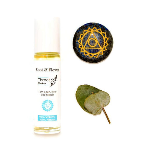 Throat Chakra Anointing Oil
