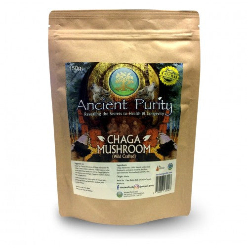 Raw Wild Crafted Chaga Mushroom Powder