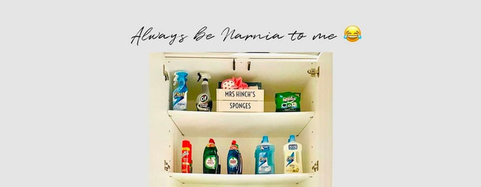 What's in Mrs Hinch's Narnia Cleaning Cupboard?