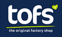 Tofs the Original Factory Shop logo