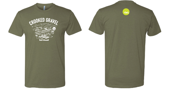 2019 Crooked Gravel - T-shirt