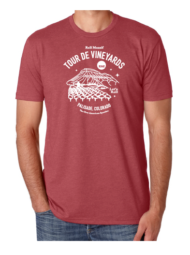 2019 Tour de Vineyards - T-shirt