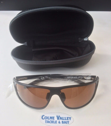 Black Aluminium Polarised Sunglasses