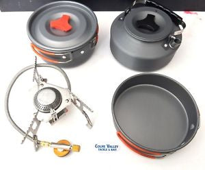 Hi Powered Stove And complete Cook Set