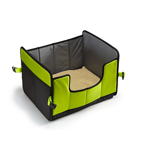 this unique dog bed comes in two distinct colors with a dog tag powered by pethub this tag once activated will help you locate a lost pet
