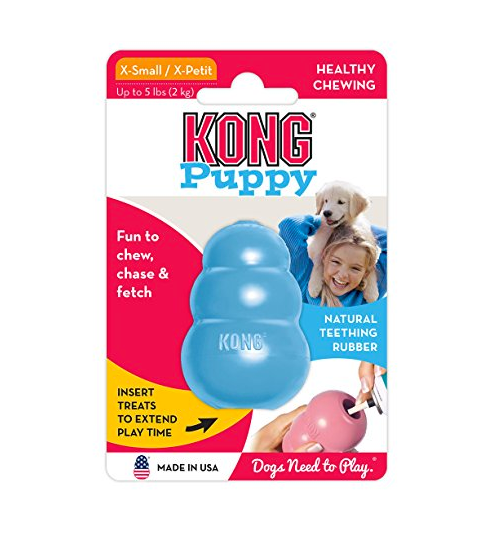 Classic Rubber Puppy Dog Toy by Kong