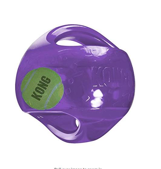 Jumbler Tennis Ball Dog Toy by Kong