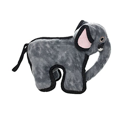 Zoo Animals Dog Toys by Tuffy - Giraffe, Elephant, Hippo, Monkey