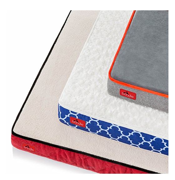 Designer Dog Bed by Brindle - Waterproof Memory Foam