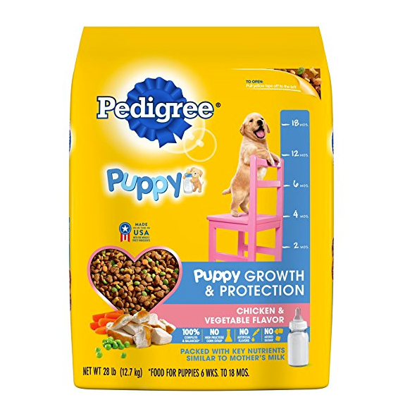 Dry Dog Food for Puppies by Pedigree