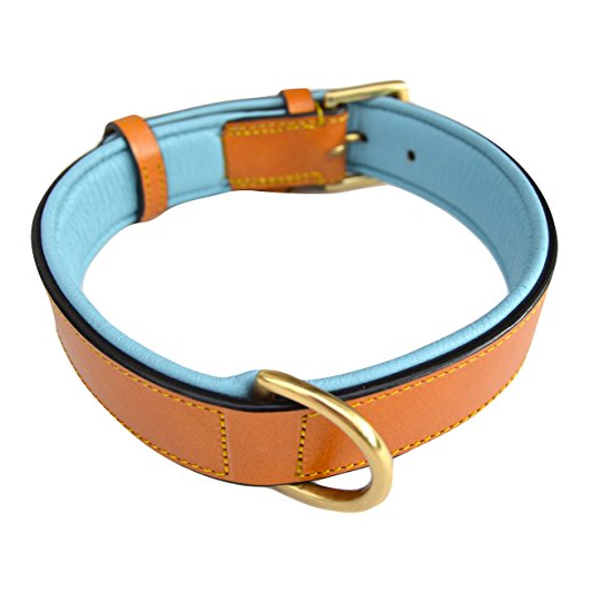 Real Leather Dog Collar by Soft Touch Collars - Assorted Designs/Sizes