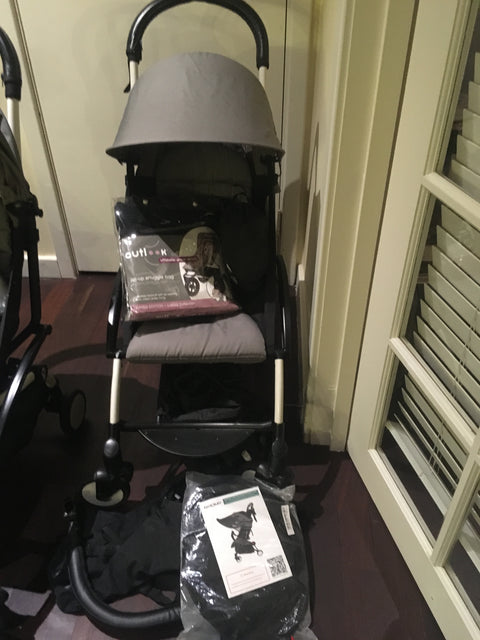 2 x Ex-Rental Baby Zen Yoyo original strollers - see description for condition