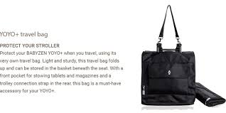 Babyzen Yoyo travel bag FOR RENT