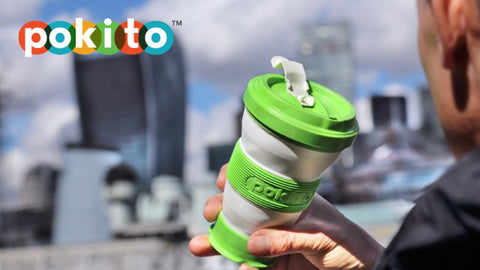 Pokito collapsible reuseable coffee cup
